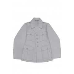 WWII German Luftwaffe M38 Officer white summer Jacket tunic