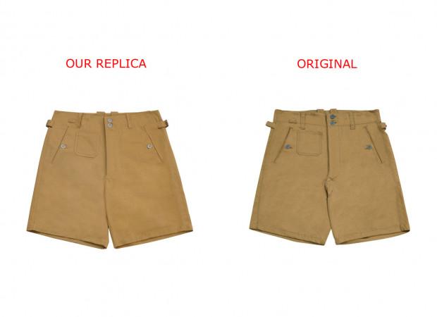 Kriegsmarine DAK/Tropical Afrikakorps short pants